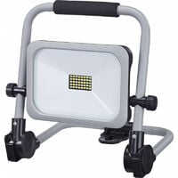 Projecteur BAtterie 20W lumineux IP54 argent avec support