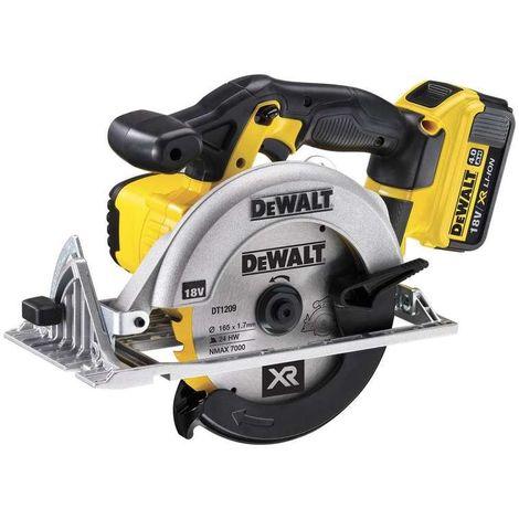 Dewalt DCS391M2 18V XR Circular Saw 2 x 4.0Ah Batteries