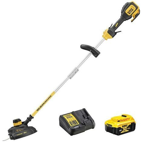 DeWALT DCM561P1S-GB 18V XR Brushless String Trimmer (Split Shaft)