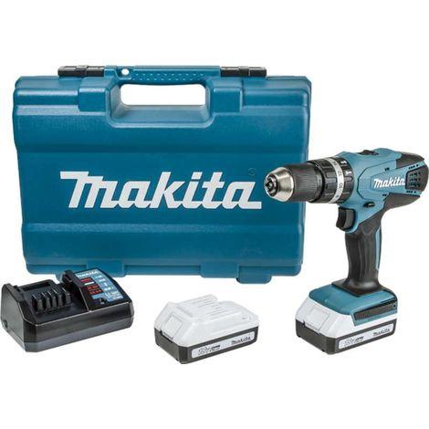 Makita HP457DWE10 18v Combi Drill Li-ion with 2 Batteries