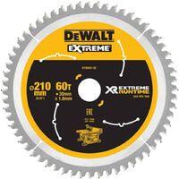 DeWALT DT99567-QZ Xtreme Runtime 210mm x 30mm 60T Sawblade