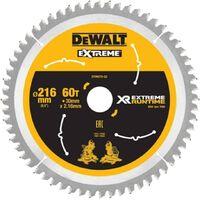 DeWALT DT99570-QZ Xtreme Runtime 216mm x 30mm 60T Sawblade