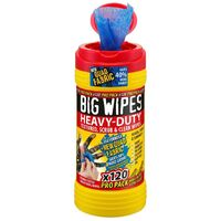 Big Wipes BGW2423 4x4 Heavy-Duty Cleaning Wipes Pro Pack 120pk