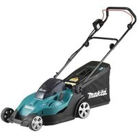 Makita DLM431PF4 Twin 18v LXT Cordless 36v 430mm Lawn Mower With 4 x 3.0Ah Batteries & Dual Charger