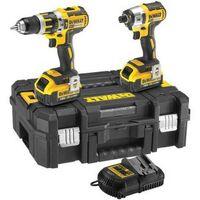 DeWalt DCK259M2T 18v Brushless Twin Pack 2x4.0Ah Li-Ion Batteries