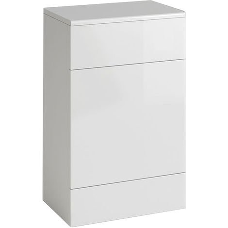 Back To Wall Toilet Cistern Unit Bathroom Furniture Gloss White 502 x 325 mm