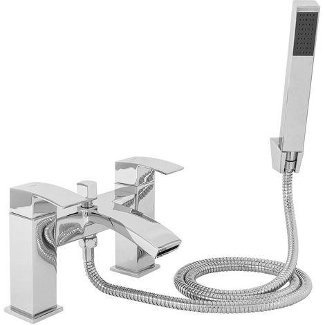 Camden Bath Shower Mixer Tap with Kit