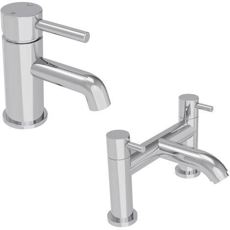 Nairn Mono Basin Tap & Bath Mixer Tap Pack - please select - please select