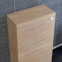 500mm Light Oak Back to Wall Unit with Concealed Cistern (No Toilet/Pan)