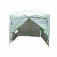 3 x 3m Garden Pop Up Gazebo Marquee Patio Canopy Wedding Party Tent - White