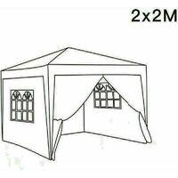 2 x 2m Garden Pop Up Gazebo Marquee Patio Canopy Wedding Party Tent- Green