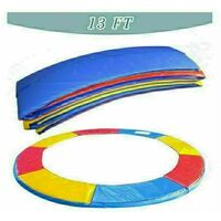 Trampoline Replacement Pad Safety Spring Cover Padding Multicolour - 13ft