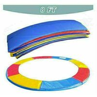 Trampoline Replacement Pad Safety Spring Cover Padding Multicolour- 8 ft