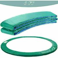 Trampoline Replacement Safety Spring Cover Padding Green Pad - 6ft