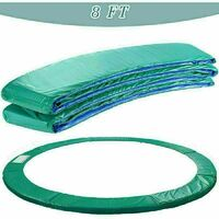 Trampoline Replacement Safety Spring Cover Padding Green Pad - 8ft