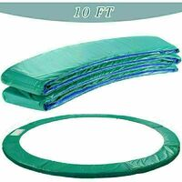 Trampoline Replacement Safety Spring Cover Padding Green Pad - 10ft