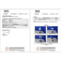 2 x Taburete de bar con Respaldo Regulable en Altura y Giratorio Cromado Cuero Sintético Gris LJB64G - Gris