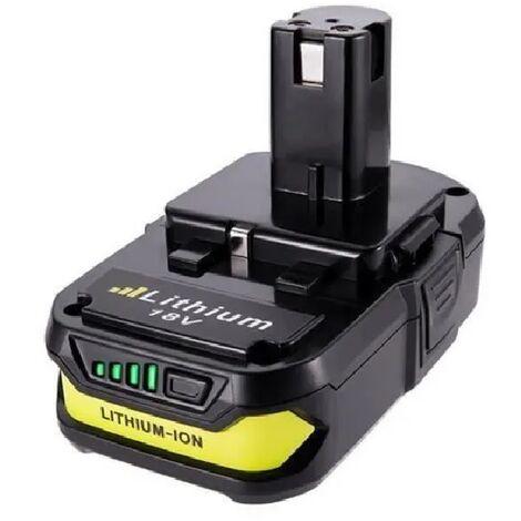 Batterie 18V 2,0Ah Compatible Ryobi One+ au Lithium 2000mAh Hobby Tech