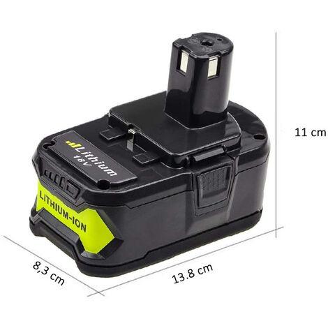 Batterie 18V 6,0Ah Compatible Ryobi One+ au Lithium 6000mAh Hobby Tech