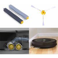 Kit d'accessoires pour iRobot Roomba Serie 800 850 851 860 865 866 870 871 876 880 885 886 890 891 896 900 960 966 980 [18 pièces] Hobby Tech