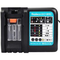 Chargeur Makita de batterie de remplacement pour Makita DC18RC 14.4V 18V 3A HobbyTech