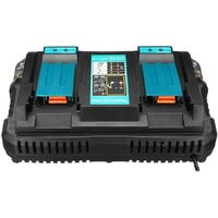 Chargeur Makita de batterie de remplacement pour Makita DC18RD 4A avec USB HobbyTech