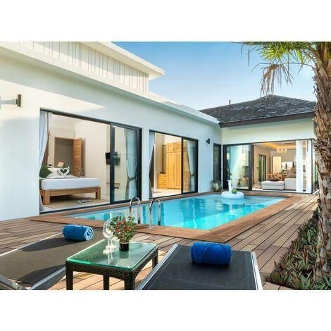 "Piscine bois rectangle "" Aruba ""- 5.00 x 3.00 x 1.24 m"
