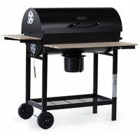 """Barbecue charbon de bois """"King"""" - 95 x 63 x 105 cm - Noir"""