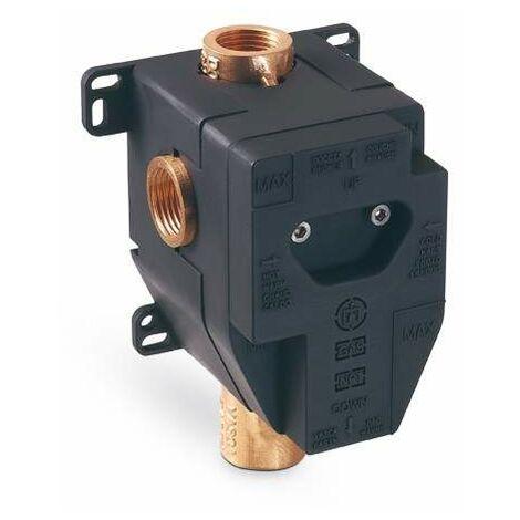 Cuerpo empotrado para grifería ducha con desviador automático Newform 10862   parte incorporada