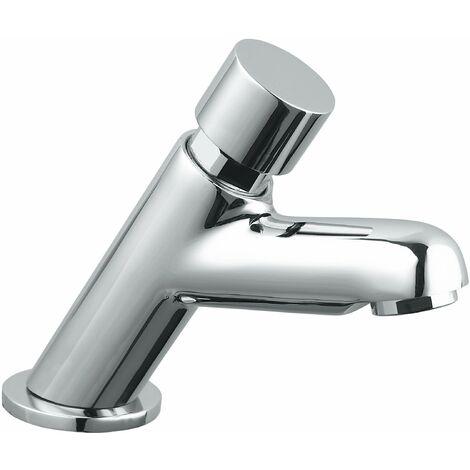 Grifo temporizado lavabo con pulsador Idral 08210 | Pre-mezclador