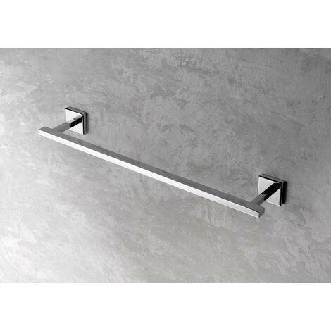 Toallero en aluminio y zamak Capannoli Nook NK140-NK160 | L. 400 - tornillos de fijación