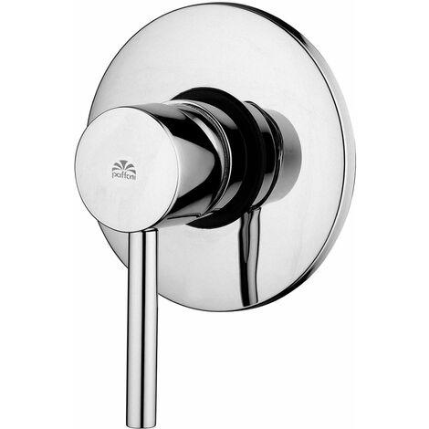 Mezclador de ducha empotrado de salida única Paffoni STICK SK010 | Cromo - 1 Salida