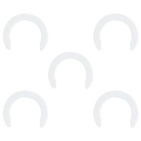 John Guest JG Speedfit 5x White Collet Locking Clip 15mm