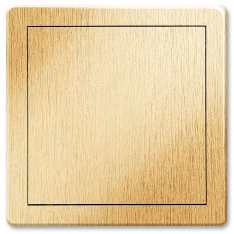 200x300mm Durable ABS Plastic Access Inspection Door Panel Gold Color