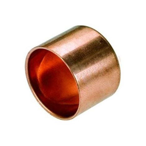 Female Pipe Fitting Ending Cap Copper Connector Solder Water Installation 15mm