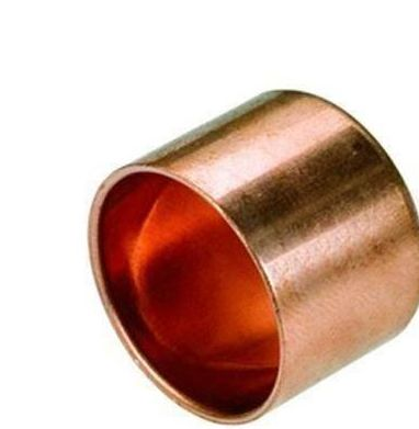 Female Pipe Fitting Ending Cap Copper Connector Solder Water Installation 28mm