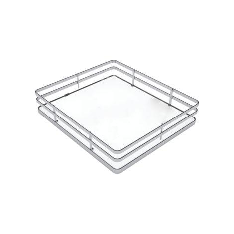 Panier fond blanc SIGE pour colonne coulissante pour meuble de 300 L.230 x P.440 x H.120 - 253+300
