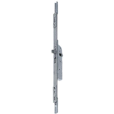 Crémone ajustable 270 mm FERCO Fouillot 15 - Haut et bas - Avec panneton - G-20396-00-0-1