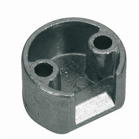 Gâche tringle d'extrémité FERCO Axe 10 mm Hauteur 15 - 0-0309-00-0-1