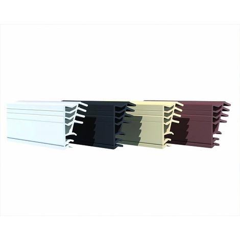 Joint universal spécial bois 6.5 m FRANCE CALFEUTRAGE - noir - 6111204