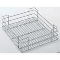 Panier fil chromé SIGE pour colonne coulissante pour meuble de 400 L.330 P.440 H.120 - 251 /400