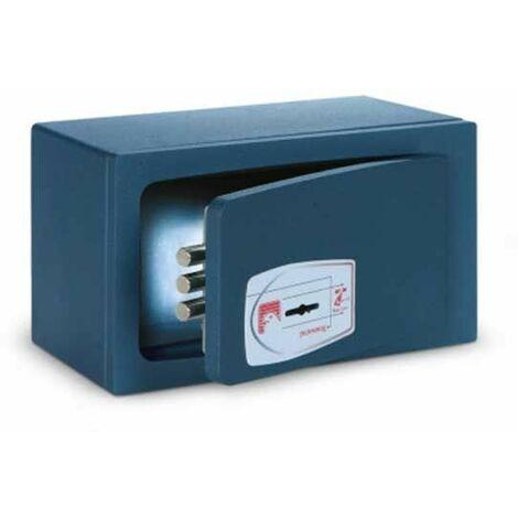 Technomax MINI SAFE Coffre-fort a emmurer / a poser avec serrure à clé double panneton MB/0 - fabriqué en Italie