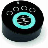 Transmetteur portable NICE AGIO pour la commande des rideaux, stores, éclairages, charges électriques AG4B avec socle de recharge