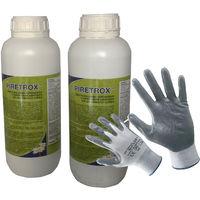 Insetticida 2 Confezioni di Piretrox da ml 1000 cad. Concentrato con Piretro Naturale. Contro Tutti gli Insetti Volanti e Striscianti. In Omaggio Guanti da Lavoro NBR