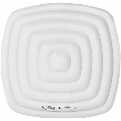 Couvercle gonflable isolant pour spa gonflable carré 4 places MSPA - Blanc