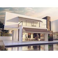 Store Banne Monobloc Manuel 2,4 X 2 m Blanc - DICKSON® CARBONE