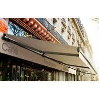 Store Banne Monobloc Manuel 2,4 X 2 m Anthracite - DICKSON® CARBONE