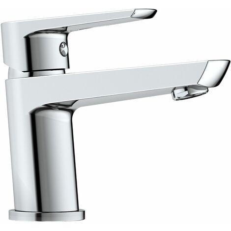 Mitigeur lavabo en laiton VISION chromé brillant - Livré avec 2 flexibles F 12/17