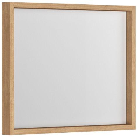 Miroir cadre 80 cm Bois SORENTO