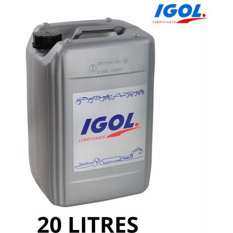 Huile Igol 10W30 - 20L boite Hydrostatique